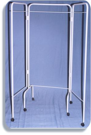 Biombo de tres cuerpos sin tela hospioffice - Telas para biombos ...